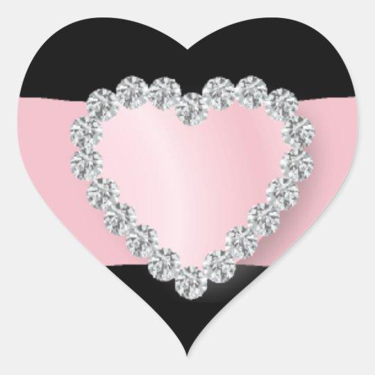 Royally Bling - SRF Heart Sticker