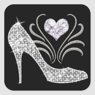 Royally Bling - SRF Square Stickers
