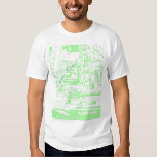 Royaltee City Green Tee Shirt
