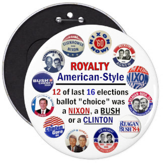 Royalty, American-Style Buttons