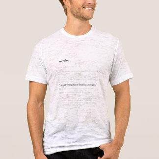 Royalty Defined Burnout Shirt