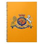 """Royalty Emblem ~ Notebook / 6.5""""x8.75"""""""