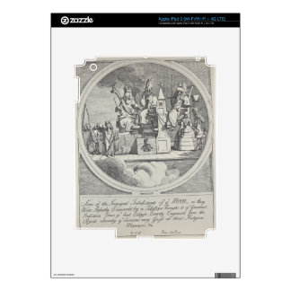 Royalty, Episcopacy and Law by William Hogarth Skins For iPad 3