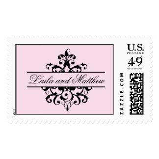 Royalty Filigree Stamp