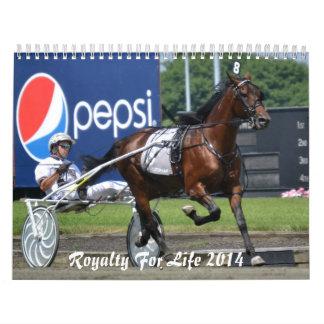 Royalty For Life 12 months 2014 Calendar II