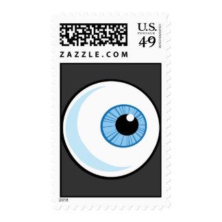 Royalty-Free-RF-Copyright-Safe-Blue-Eye-Ball EYEBA Postage