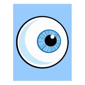 Royalty-Free-RF-Copyright-Safe-Blue-Eye-Ball EYEBA Postcard