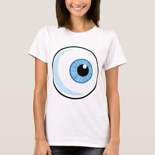 Royalty-Free-RF-Copyright-Safe-Blue-Eye-Ball EYEBA T-Shirt