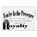 Royalty Greeting Cards