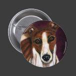 Royalty - Greyhound Art Button