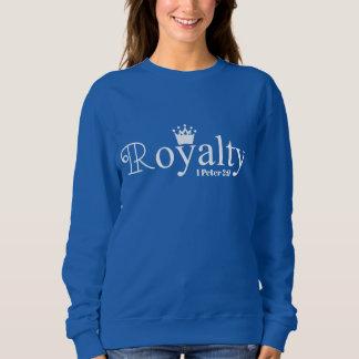 Royalty Inspirational Bible Verse Sweatshirt