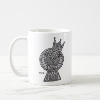 ROYALTY, MTB TRIBAL SKULL COFFEE MUG