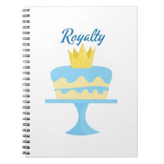 Royalty Notebook