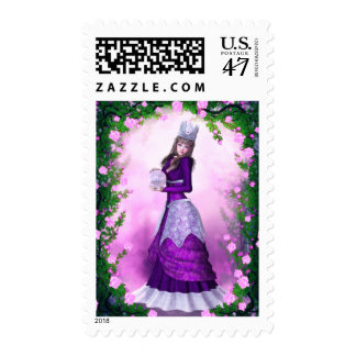 Royalty of the Rose Postage