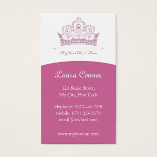 Royalty / Princess Business Cards