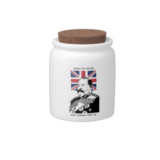 Royalty Rules - King Edward the VII Candy Jar