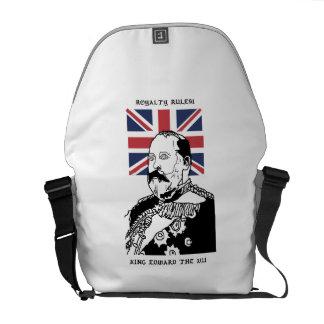 Royalty Rules - King Edward the VII Messenger Bag