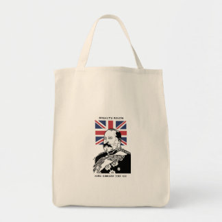 Royalty Rules - King Edward the VII Tote Tote Bag