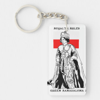 Royalty Rules - Queen Ranavalona I Keychain