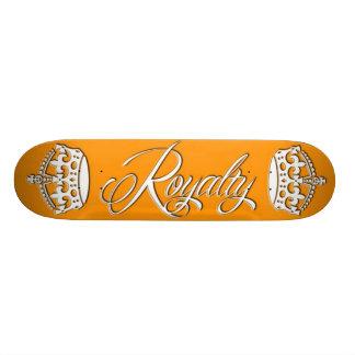 Royalty Skateboard Deck Orange
