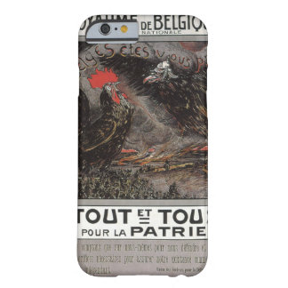 Royaume Belgique Propaganda Poster Barely There iPhone 6 Case