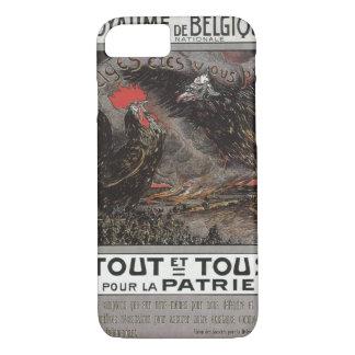 Royaume Belgique Propaganda Poster iPhone 8/7 Case
