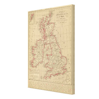 Royaume Uni, Angleterre, Ecosse Stretched Canvas Prints