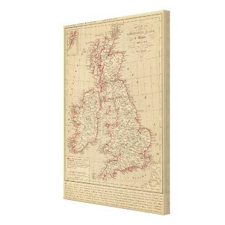 Royaume Uni, Angleterre, Ecosse Canvas Print