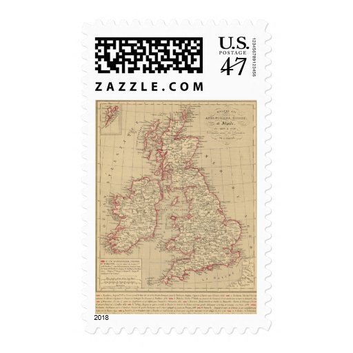 Royaume Uni, Angleterre, Ecosse Estampilla