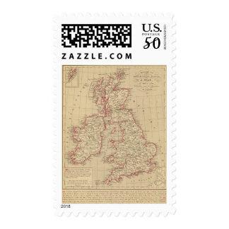 Royaume Uni, Angleterre, Ecosse Postage