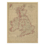 Royaume Uni, Angleterre, Ecosse Póster