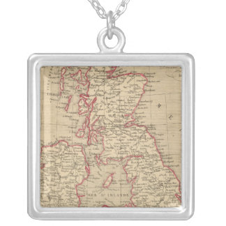 Royaume Uni, Angleterre, Ecosse Silver Plated Necklace