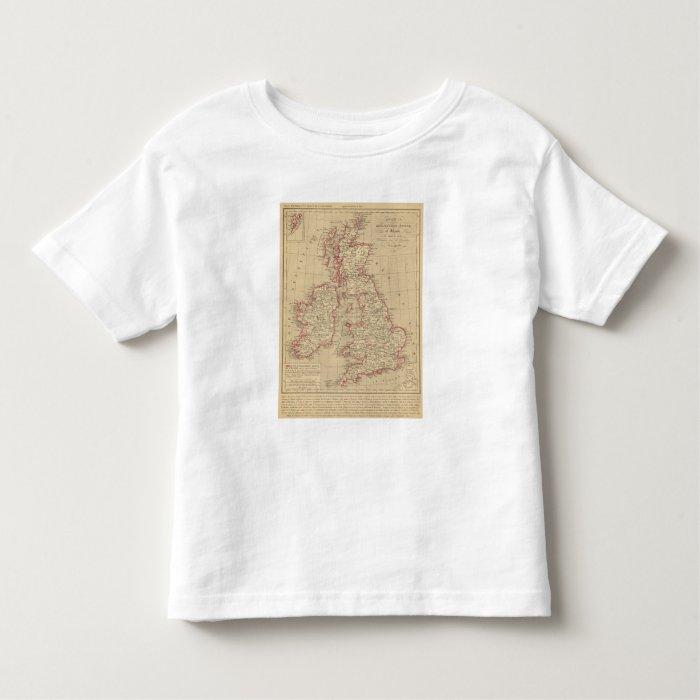 Royaume Uni, Angleterre, Ecosse Toddler T-shirt
