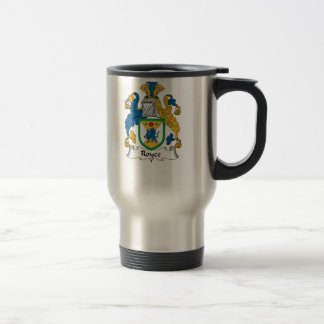 Royce Family Crest Travel Mug