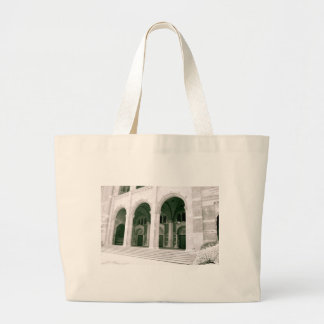 Royce Hall Black and White Large Tote Bag