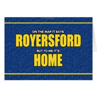 Royersford... Card