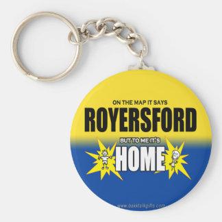 Royersford… Llavero Redondo Tipo Pin