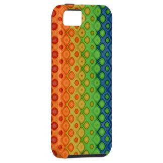 ROYGBIV Rainbow Bubbles Distorted Colors iPhone SE/5/5s Case