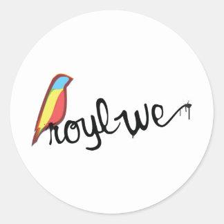 Royl We Classic Round Sticker