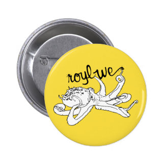 Roylwe Octo 2 Inch Round Button