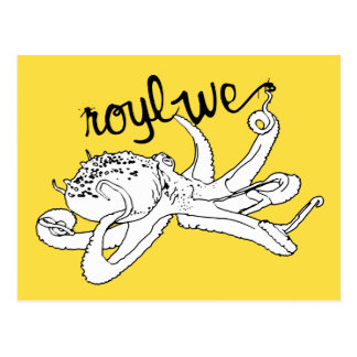 Roylwe Octo Postcard