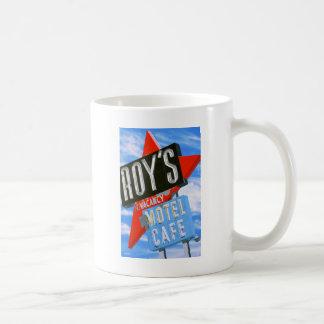 Roy's Motel Amboy Retro Style Mug