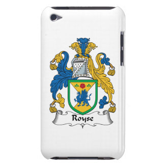Royse Family Crest Barely There iPod Case