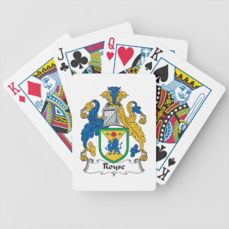 Royse Family Crest Bicycle Playing Cards