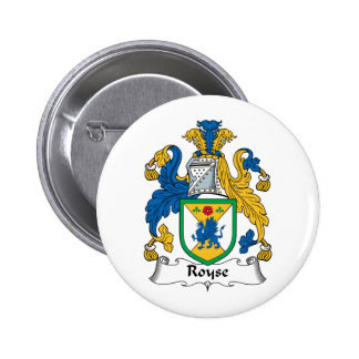 Royse Family Crest Button