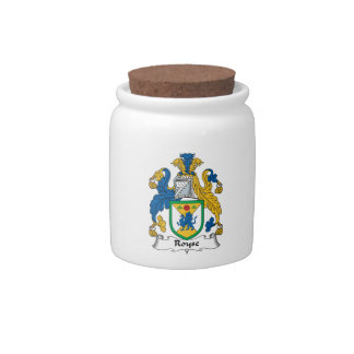 Royse Family Crest Candy Dishes