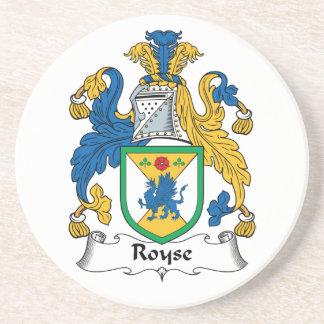 Royse Family Crest Coasters