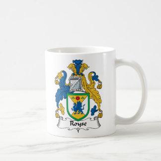 Royse Family Crest Coffee Mugs