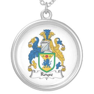 Royse Family Crest Custom Jewelry