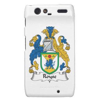 Royse Family Crest Droid RAZR Case